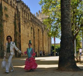 Cordoba - promenade with grandma
