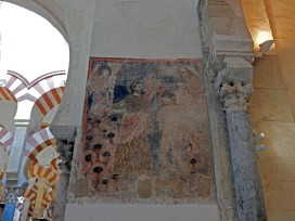 Before the Muslim conquest the site was the Visigoth Church of St Vincent (600 AD)