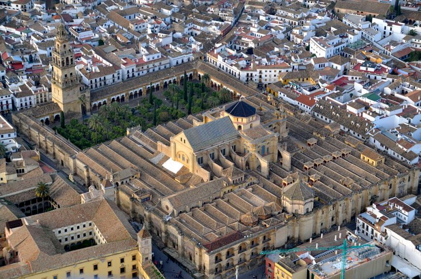 Mezquita Mosque/Cathedral, Cordoba, Spain (photo via Wikipedia)