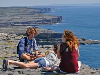 adventure on the coast of Ireland
