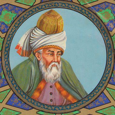 Rumi [via Wikipedia]