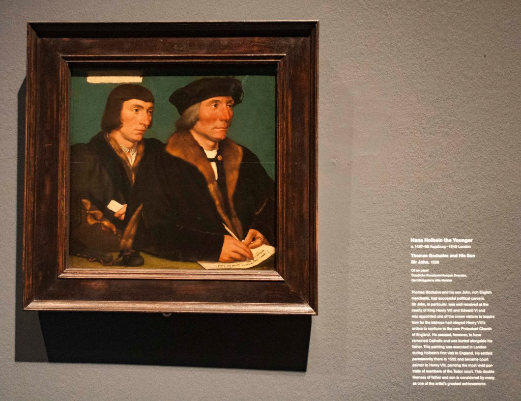 father & son by Hans Holbein the Younger