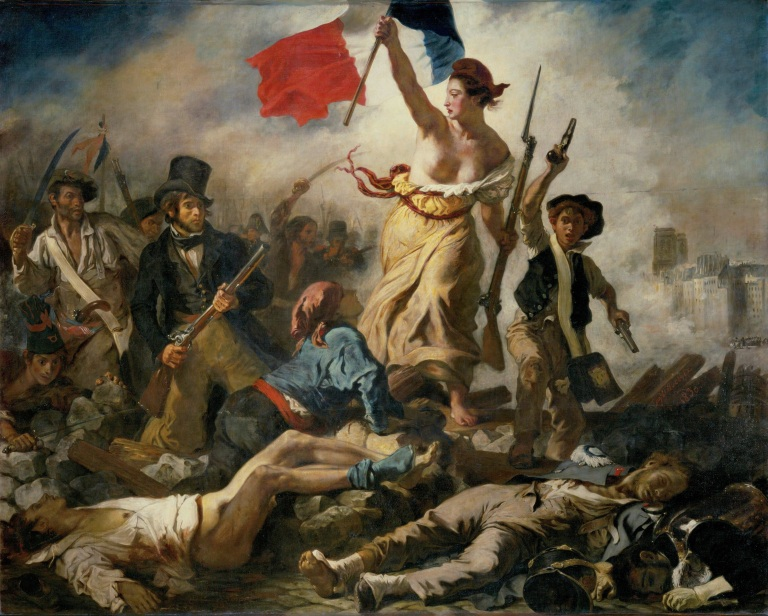Liberty Leading the People. 1830. Oil on canvas, 260 x 325 cm.